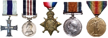 Albert Rothery's Medals