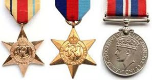 WWII Medal Set with Africa Star