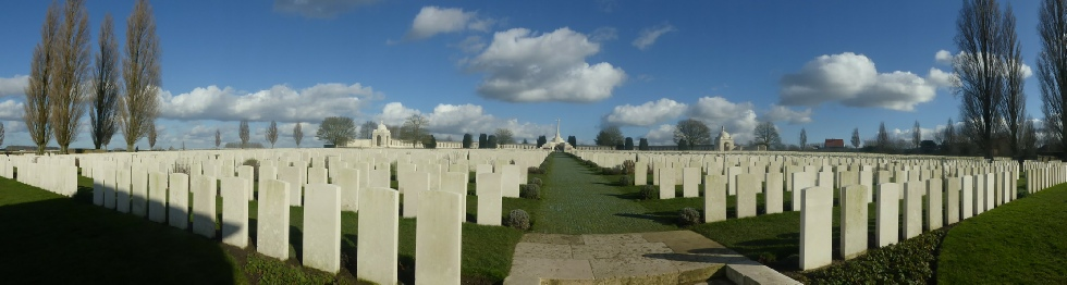 Tyne Cot Cemetery - Photo by Rob Shephard