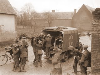 WWI Field Ambulance in France