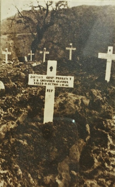 Tommy's Grave in Italy