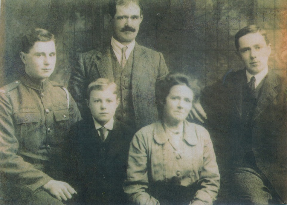 Harry Blamire and family