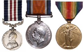 Richard Brown's Medals