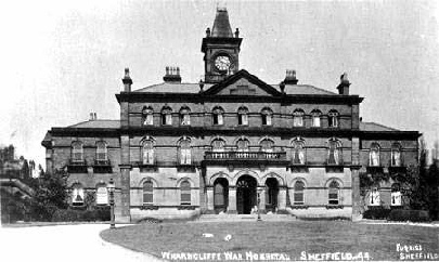 Warncliffe War Hospital in Sheffield