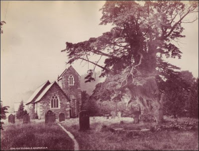 Patterdale Church from around 1883 - 16 years before William arrived