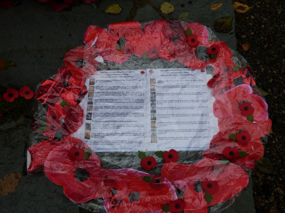 Wreath Created by the Children of Patterdale School