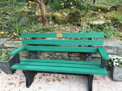 Bench in memory of Oliver Readshaw - Durham Light Infantry
