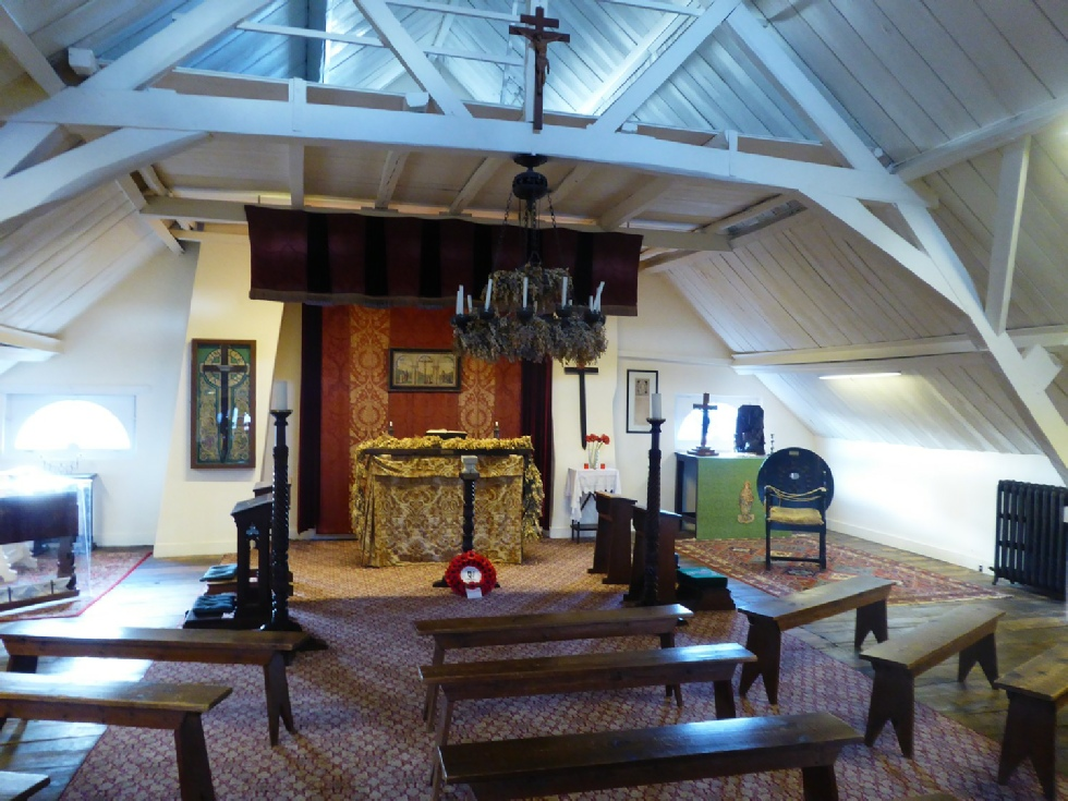 Chapel at Talbot House Poperinghe - Photo © Rob Shephard