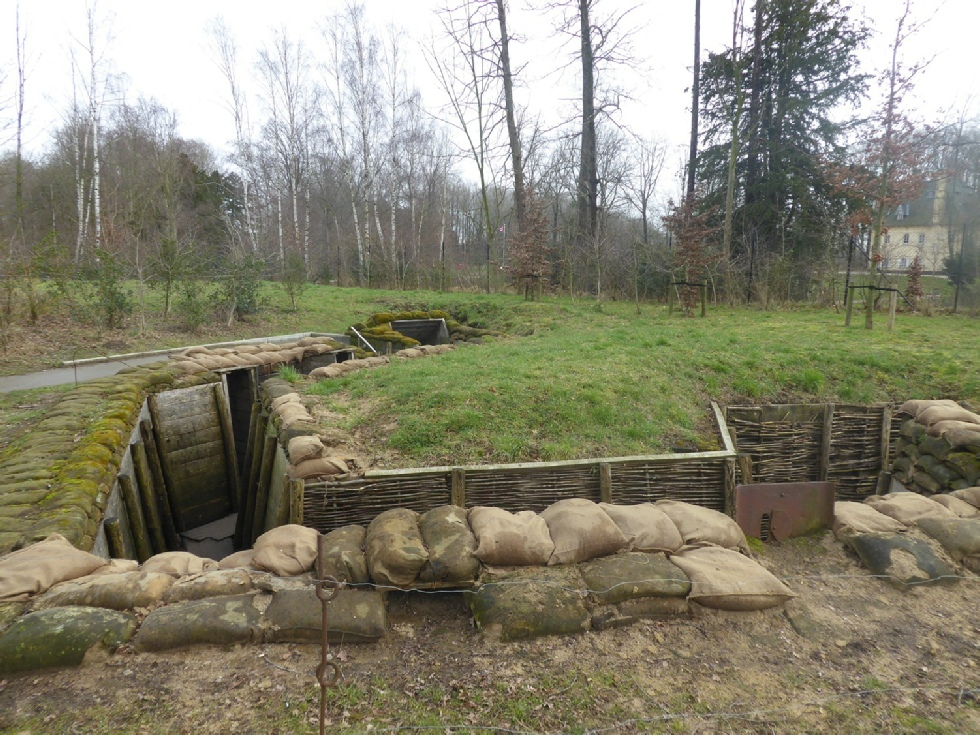 Trenches at the Memorial Museum Passchendaele 1917 - Photo © Rob Shephard