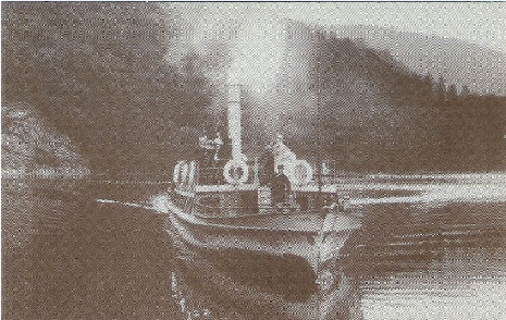 The Raven as a Steamship